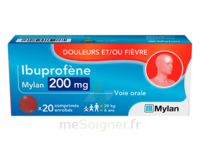 IBUPROFENE MYLAN 200 mg, comprimé enrobé à STRASBOURG