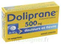 DOLIPRANE 500 mg Comprimés 2plq/8 (16) à STRASBOURG