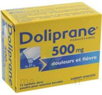DOLIPRANE 500 mg Poudre pour solution buvable en sachet-dose B/12 à STRASBOURG