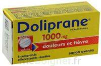 DOLIPRANE 1000 mg Comprimés effervescents sécables T/8 à STRASBOURG