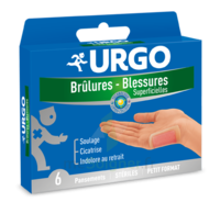 URGO BRULURES-BLESSURES PETIT FORMAT x 6 à STRASBOURG