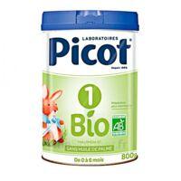 Picot Bio 1 Lait poudre B/800g à STRASBOURG
