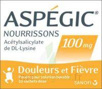 ASPEGIC NOURRISSONS 100 mg, poudre pour solution buvable en sachet-dose à STRASBOURG
