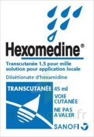 HEXOMEDINE TRANSCUTANEE 1,5 POUR MILLE, solution pour application locale à STRASBOURG