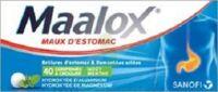 MAALOX HYDROXYDE D'ALUMINIUM/HYDROXYDE DE MAGNESIUM 400 mg/400 mg Cpr à croquer maux d'estomac Plq/40 à STRASBOURG
