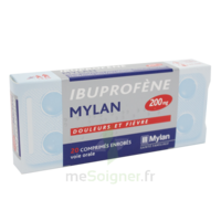 IBUPROFENE MYLAN 200 mg, comprimé enrobé B/30 à STRASBOURG