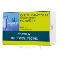 CYSTINE/VITAMINE B6 BIOGARAN CONSEIL 500 mg/50 mg Cpr pell Plq/120 à STRASBOURG