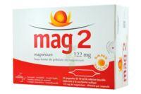 MAG 2 122 mg S buv en ampoule sans sucre édulcoré à la saccharine sodique 30Amp/10ml à STRASBOURG