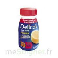 DELICAL BOISSON HP HC CONCENTREE Nutriment vanille 4Bouteilles/200ml à STRASBOURG