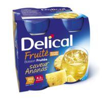 DELICAL BOISSON FRUITEE Nutriment ananas 4Bouteilles/200ml à STRASBOURG