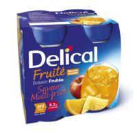DELICAL BOISSON FRUITEE Nutriment multi fruits 4Bouteilles/200ml à STRASBOURG