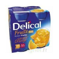 DELICAL BOISSON FRUITEE Nutriment orange 4Bouteilles/200ml à STRASBOURG