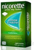 NICORETTE 2 mg Gom à mâcher médic sans sucre menthe fraîche Plq/30gom à STRASBOURG
