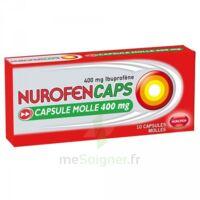 NUROFENCAPS 400 mg Caps molle Plq/10 à STRASBOURG