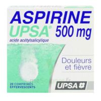 ASPIRINE UPSA 500 mg, comprimé effervescent à STRASBOURG