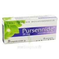 PURSENNIDE 20 mg, comprimé enrobé à STRASBOURG