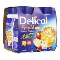 DELICAL BOISSON FRUITEE Nutriment pomme 4Bouteilles/200ml à STRASBOURG