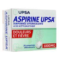 ASPIRINE UPSA TAMPONNEE EFFERVESCENTE 1000 mg, comprimé effervescent à STRASBOURG