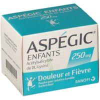 ASPEGIC ENFANTS 250, poudre pour solution buvable en sachet-dose à STRASBOURG