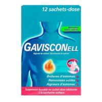 GAVISCONELL Suspension buvable sachet-dose menthe sans sucre 12Sach/10ml à STRASBOURG