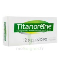 TITANOREINE Suppositoires B/12 à STRASBOURG