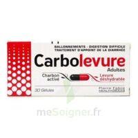 CARBOLEVURE Gélules adulte Plq/30 à STRASBOURG