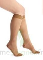 Thuasne Venoflex Secret 2 Chaussette femme beige doré T2L à STRASBOURG