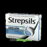 Strepsils lidocaïne Pastilles Plq/24 à STRASBOURG