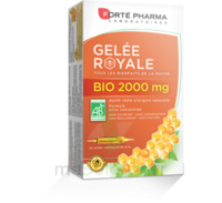 Forte Pharma Gelée royale bio 2000 mg Solution buvable 20 Ampoules/15ml à STRASBOURG