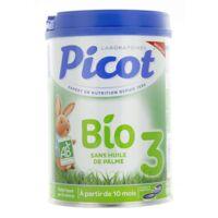Picot Bio 3 Lait en poudre 800g à STRASBOURG