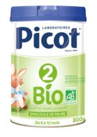 Picot 2 Bio Lait en poudre 800g à STRASBOURG