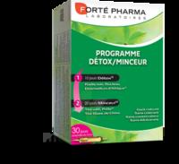 Forte Pharma Solution buvable Programme détox minceur 30 Ampoules/10ml à STRASBOURG
