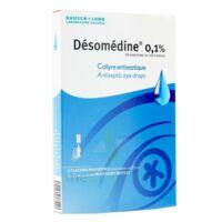 DESOMEDINE 0,1 % Collyre sol 10Fl/0,6ml à STRASBOURG