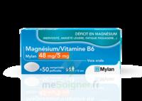 MAGNESIUM/VITAMINE B6 MYLAN 48 mg/5 mg, comprimé pelliculé à STRASBOURG