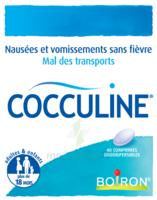 Boiron Cocculine Comprimés orodispersibles B/40 à STRASBOURG
